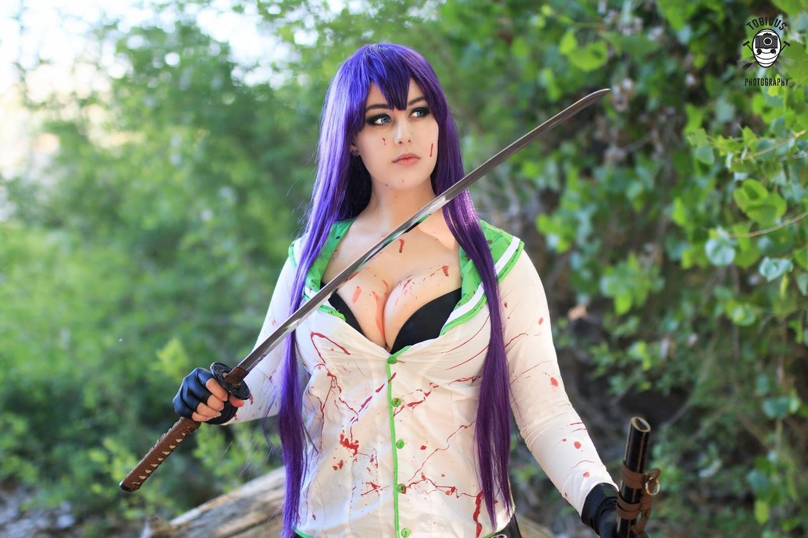 saeko busujima hot cosplayers