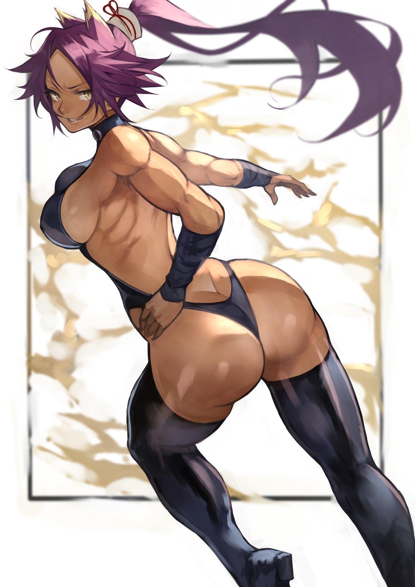 yoruichi shihouin ass