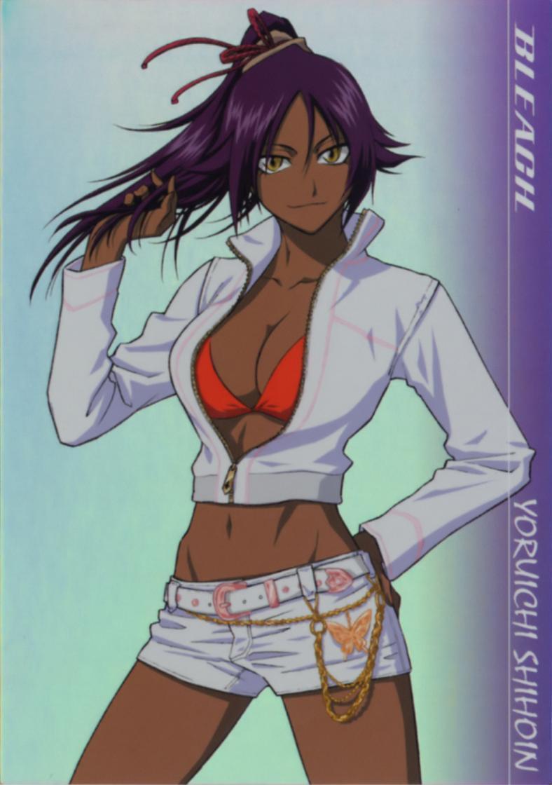 yoruichi shihouin cleavage