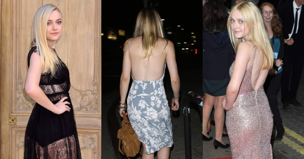 51 Dakota Fanning Big Butt Pictures Will Make You Fall In Love