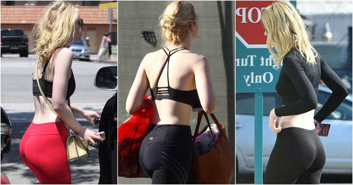 51 Elle Fanning Big Butt Pictures Define Natural Beauty