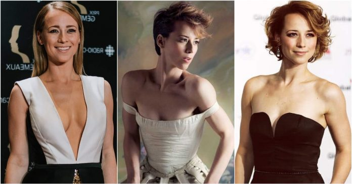 51 Sexiest Karine Vanasse Boobs Pictures Show Off Her Awesome Bosoms