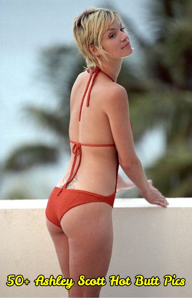 Ashley Scott hot butt pics