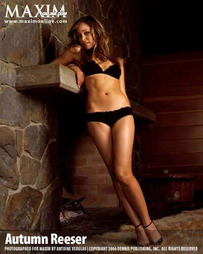 Autumn Reeser lingerie pics