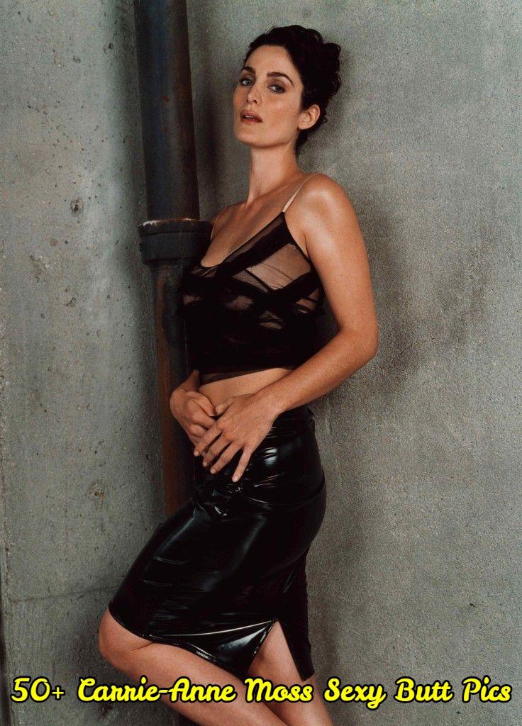 Carrie-Anne Moss Sexy Butt Pics