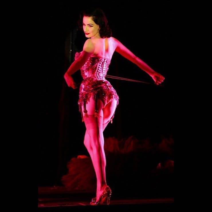 Dita Von Teese big booty pics