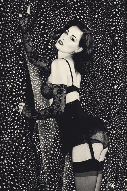 Dita Von Teese big butt pics