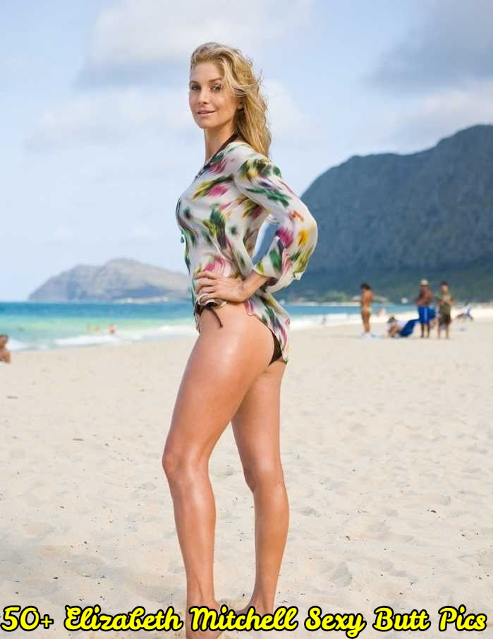 Elizabeth Mitchell Sexy Butt Pics