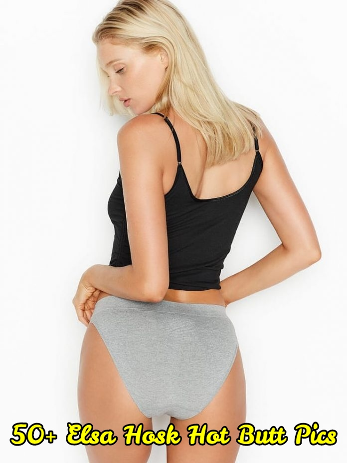 Elsa Hosk hot butt pics