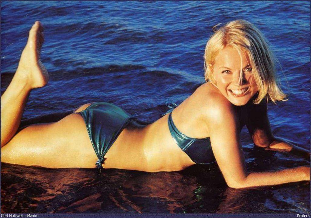 Geri Halliwell ass pics