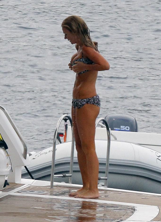 Geri Halliwell butt