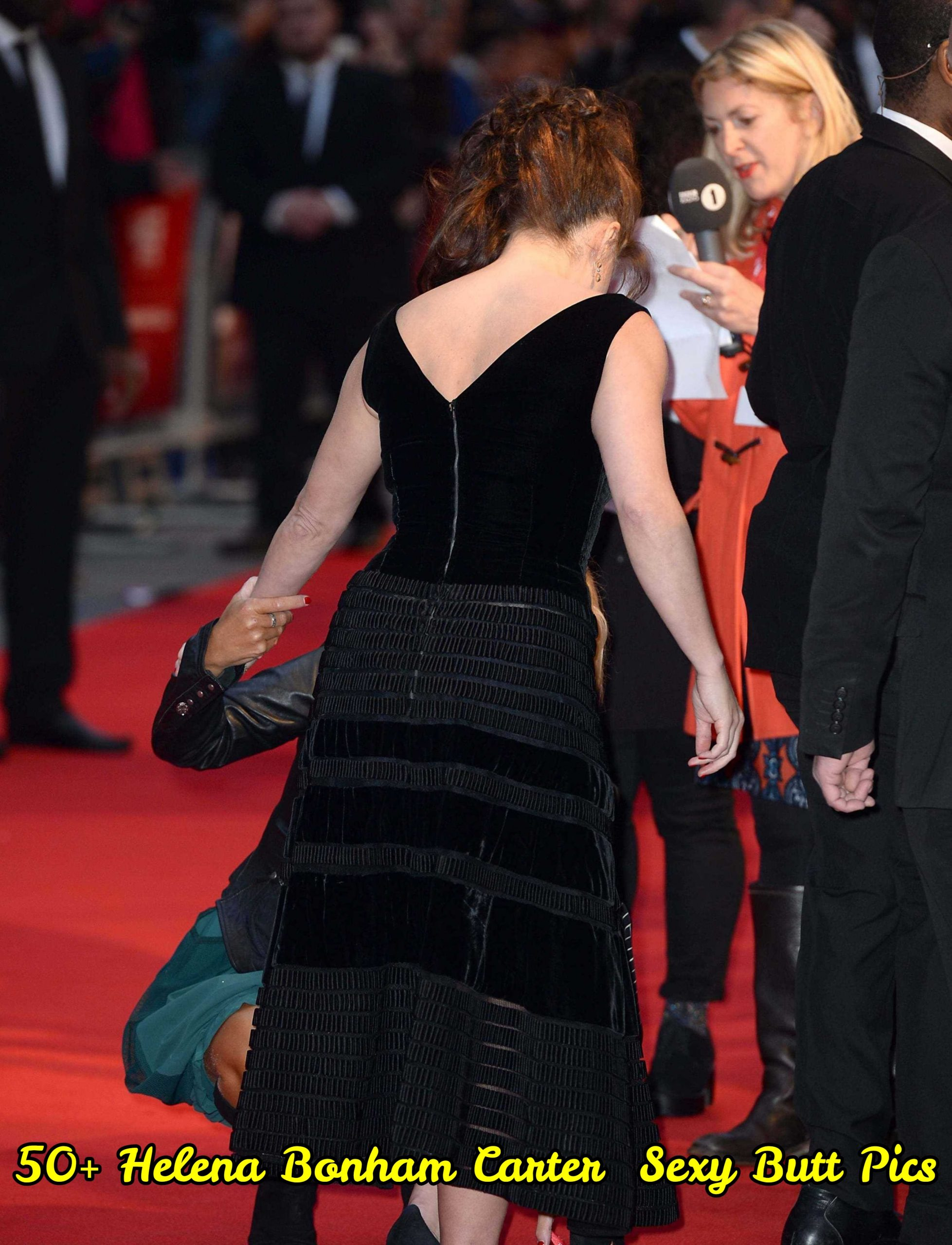 Helena Bonham Carter Sexy Butt Pics