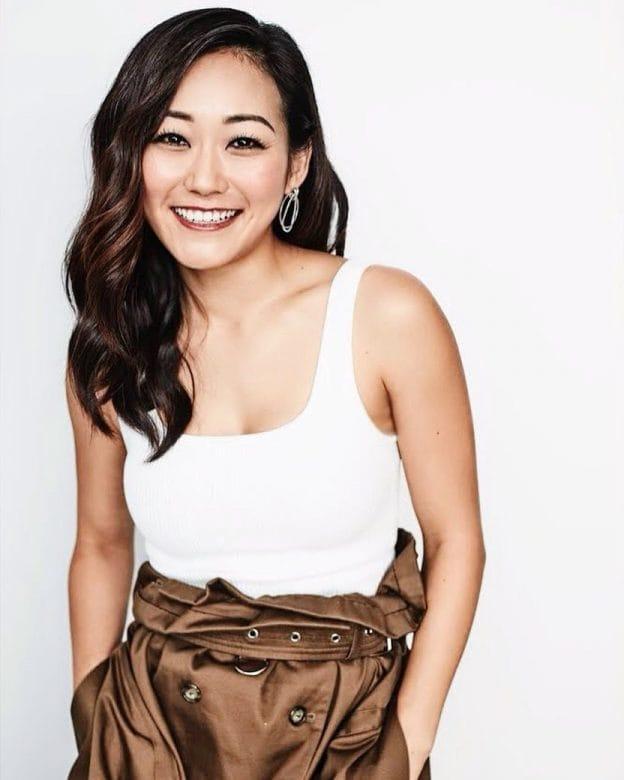 Karen Fukuhara sexy cleavage pics