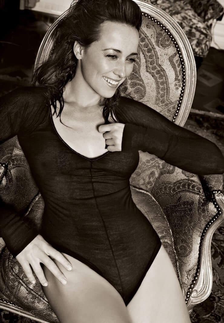 Karine Vanasse lingerie pics