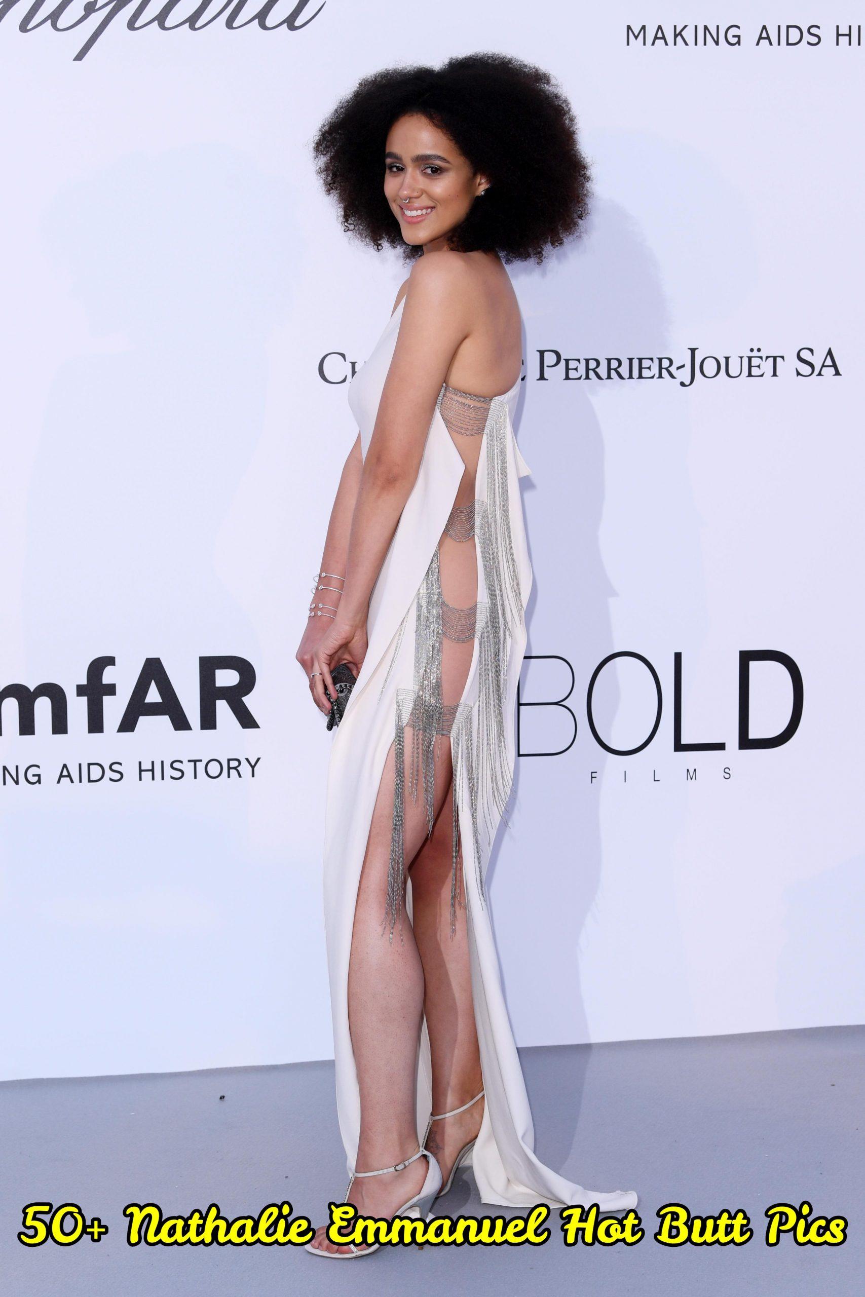 Nathalie Emmanuel Hot Butt Pics