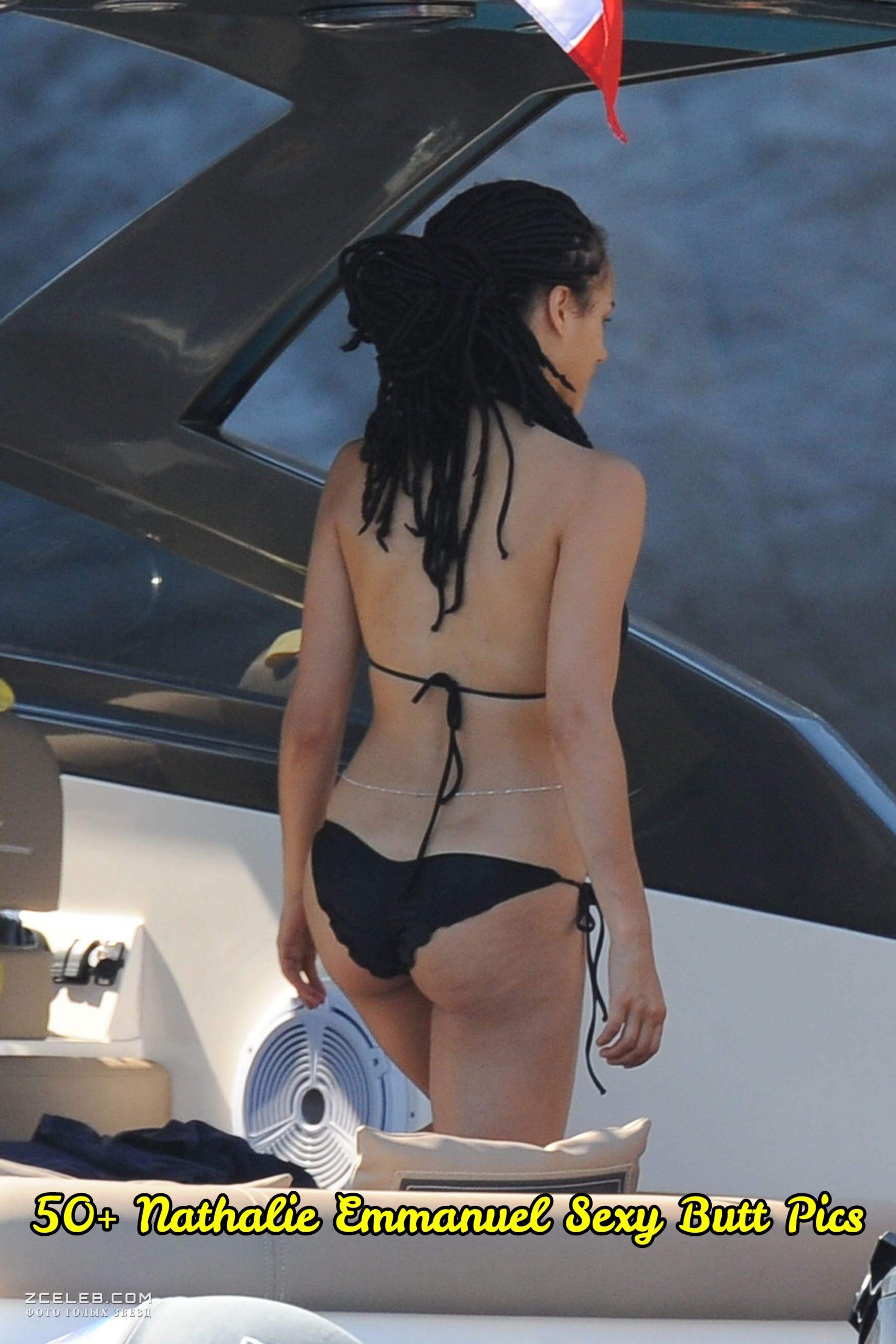 Nathalie Emmanuel Sexy Butt Pics