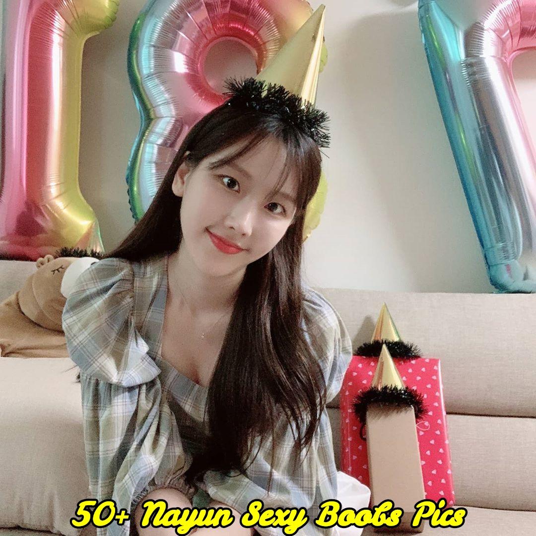 Nayun sexy boobs pics