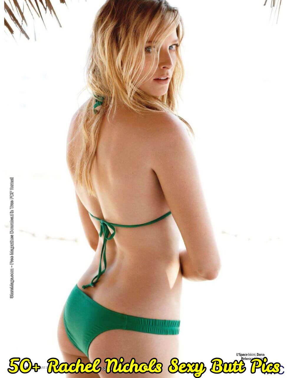 Rachel Nichols Sexy Butt Pics