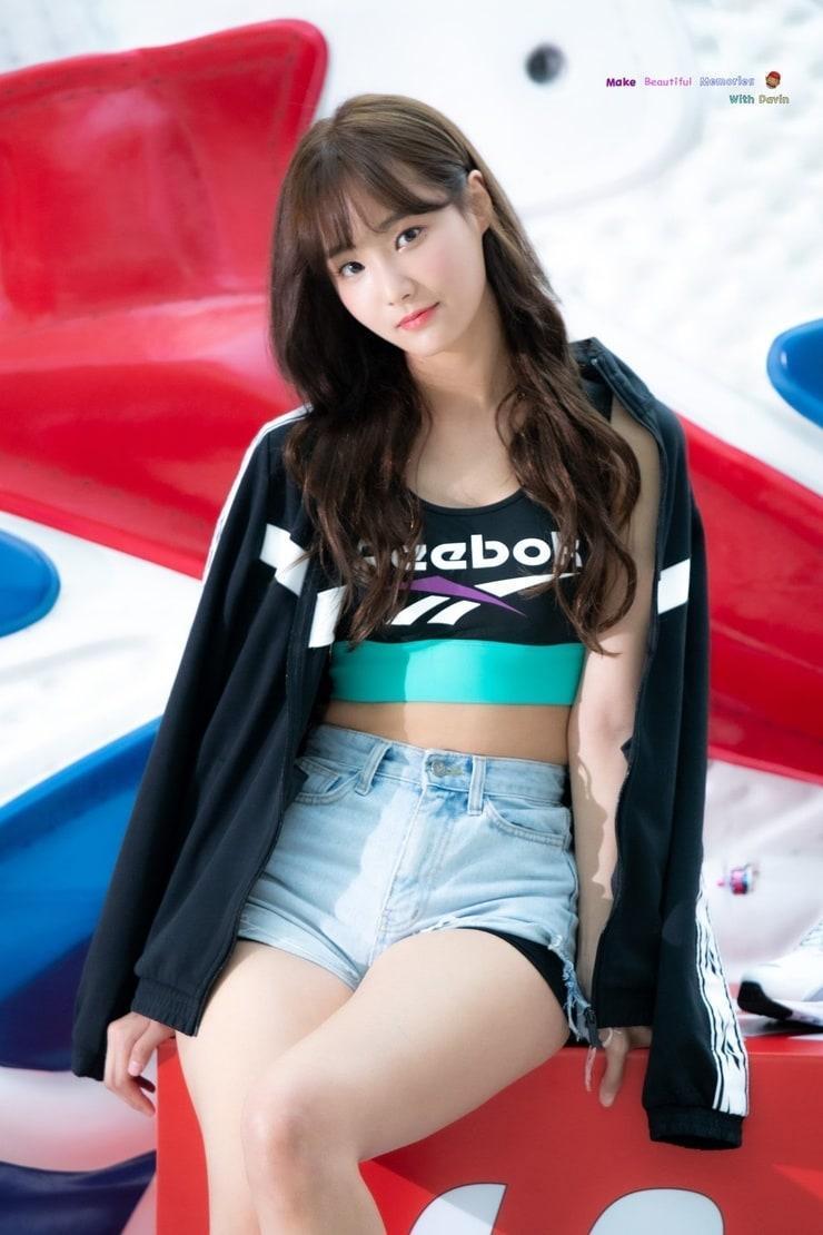 Yeonwoo tits pics
