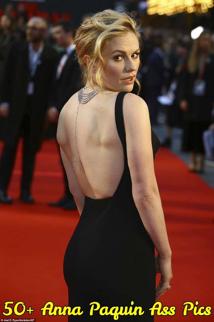 Sexiest fake butt nude pics anna paquin