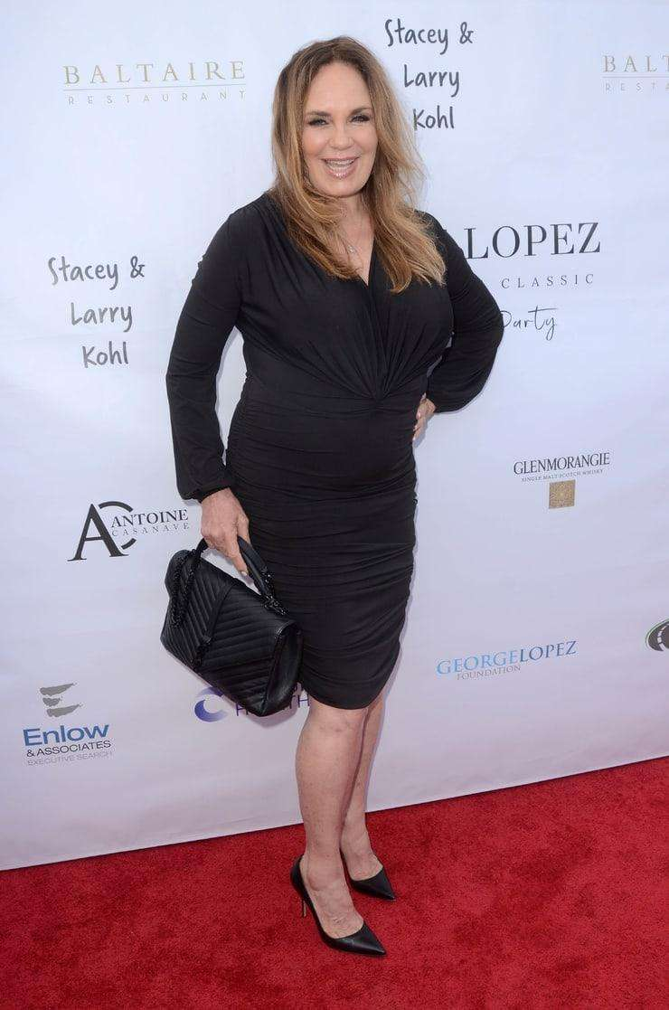 catherine bach red carpet