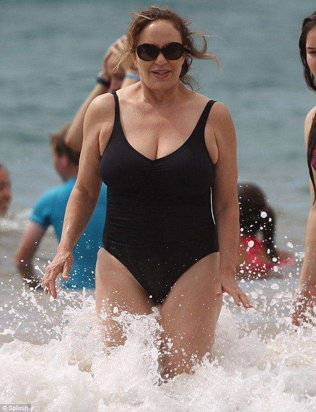 catherine bach swimsuit