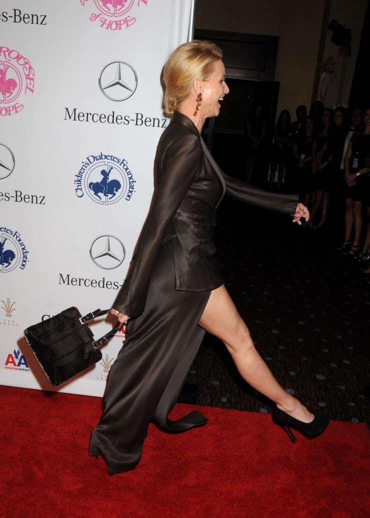 nicollette sheridan red carpet