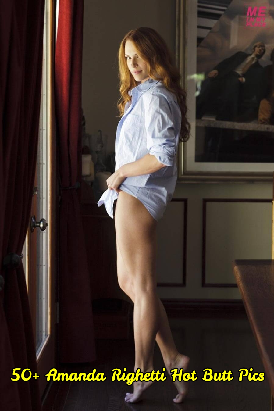 Amanda Righetti Hot Butt Pics