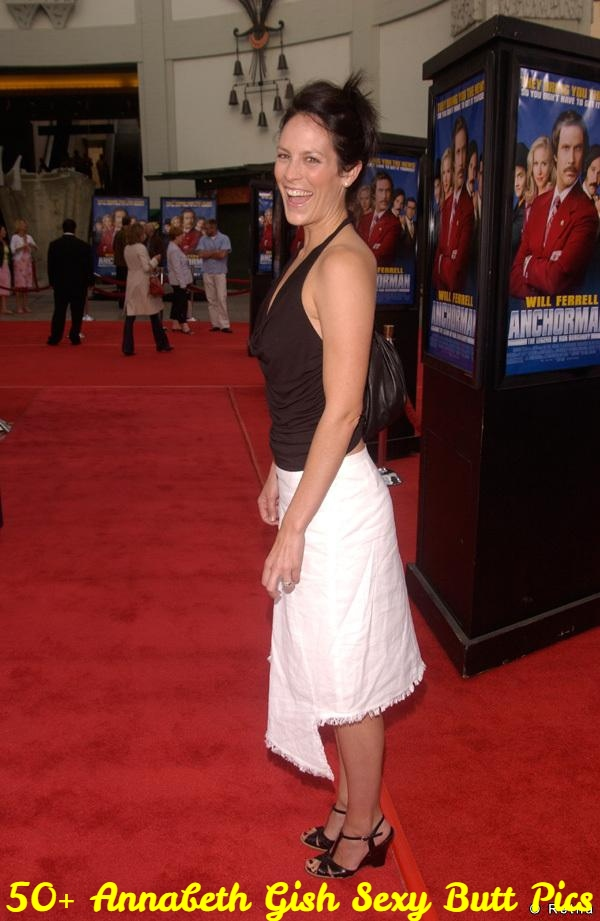 Actress ANNABETH GISH at the Hollywood premiere of Anchorman.June 28, 2004