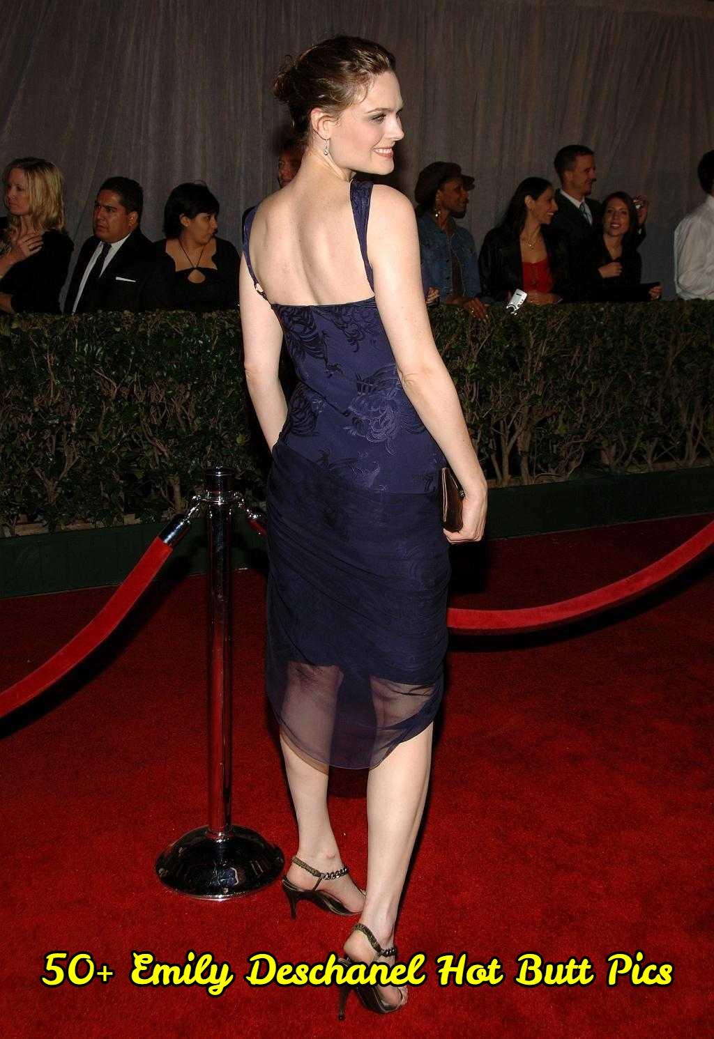 Emily Deschanel Hot Butt Pics