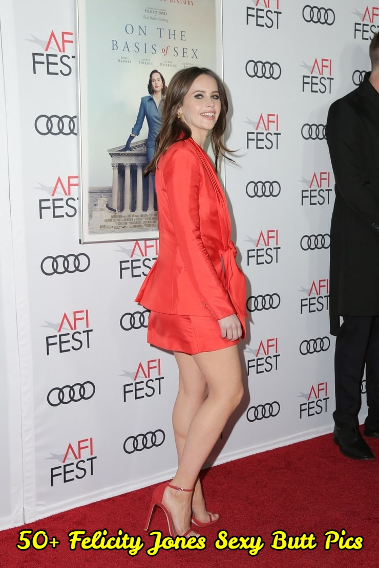 Felicity Jones Sexy Butt Pics