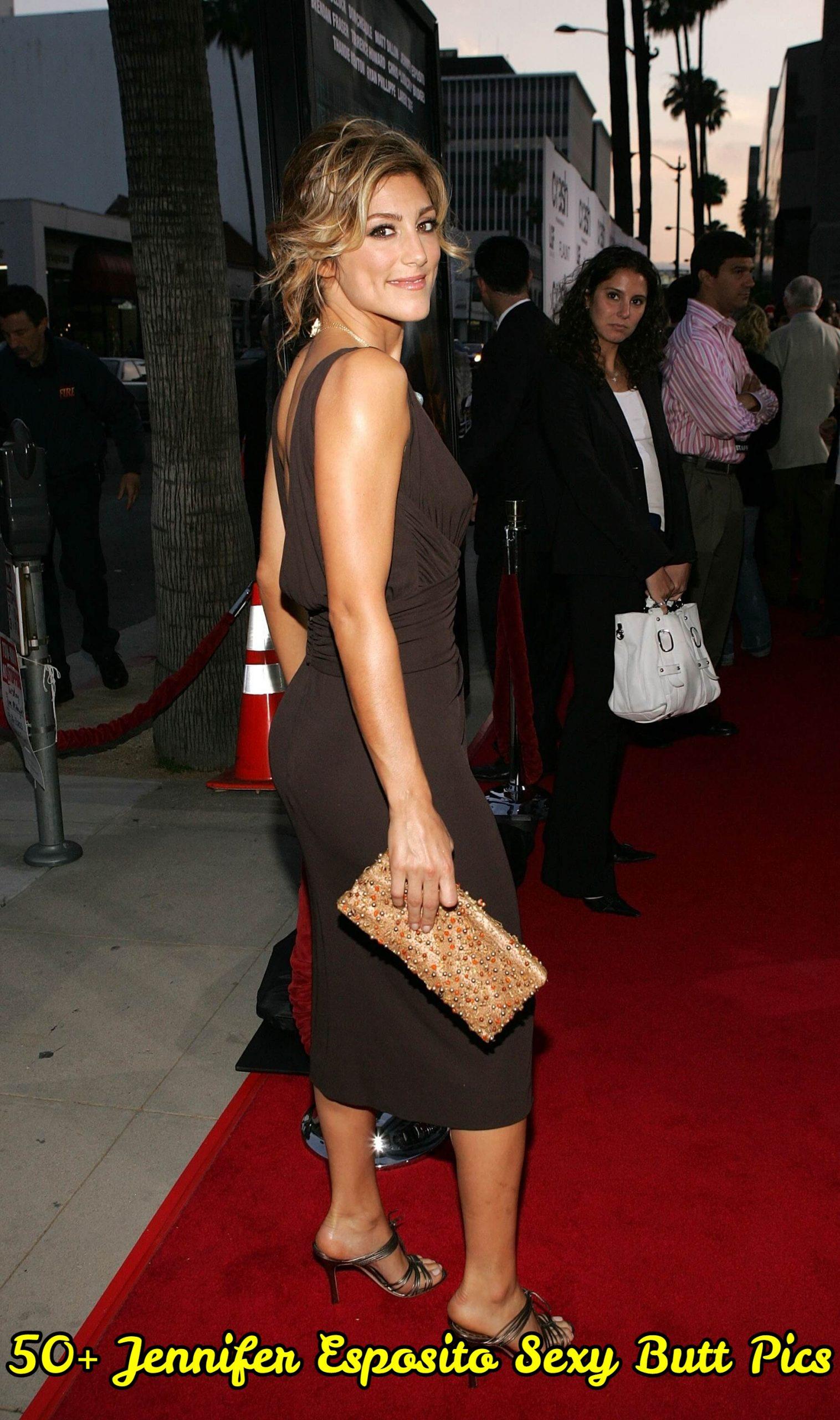 Jennifer Esposito Sexy Butt Pics