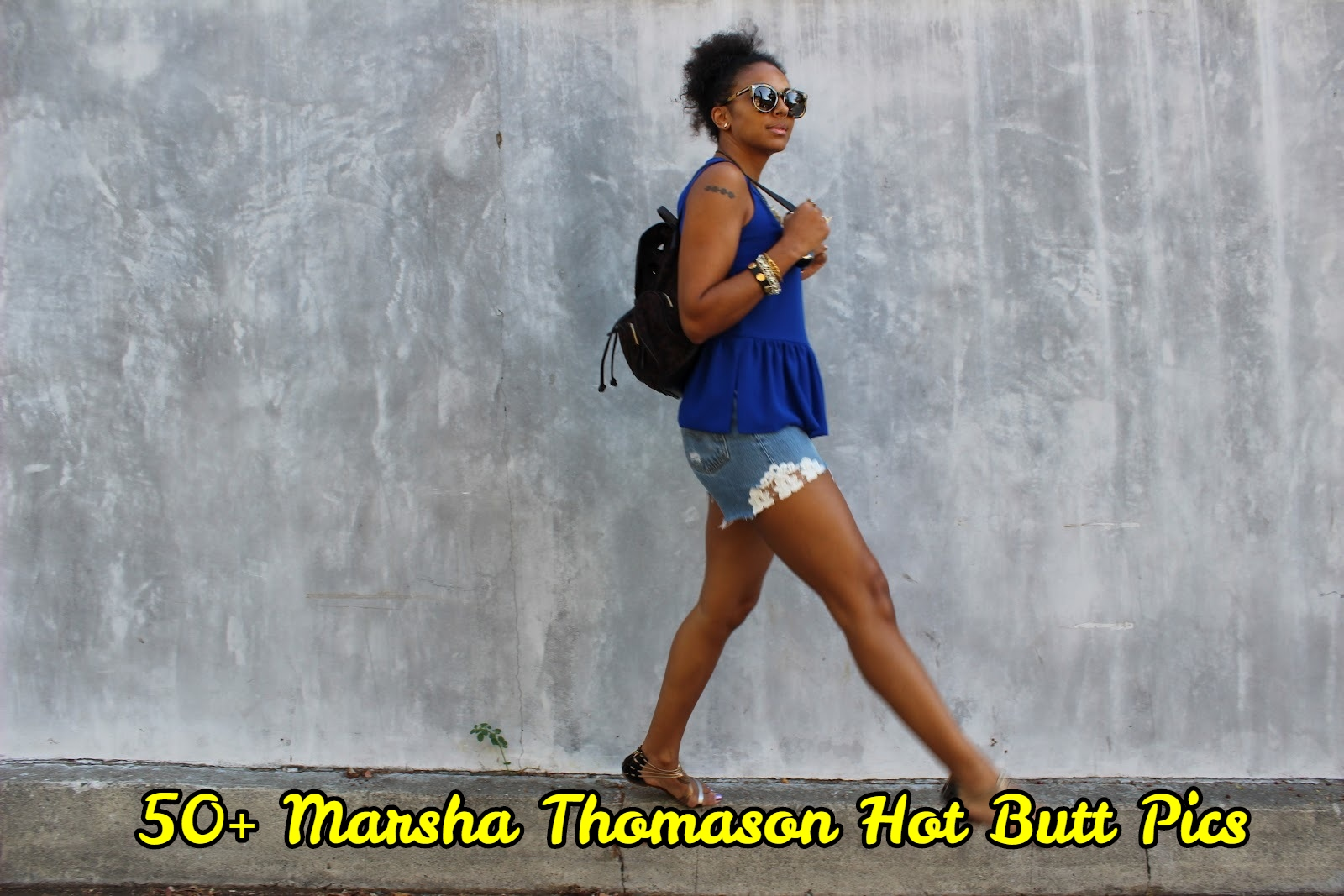 Marsha Thomason Hot Butt Pics