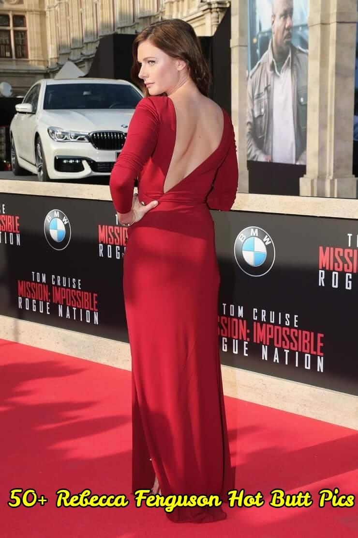 Rebecca Ferguson Hot Butt Pics