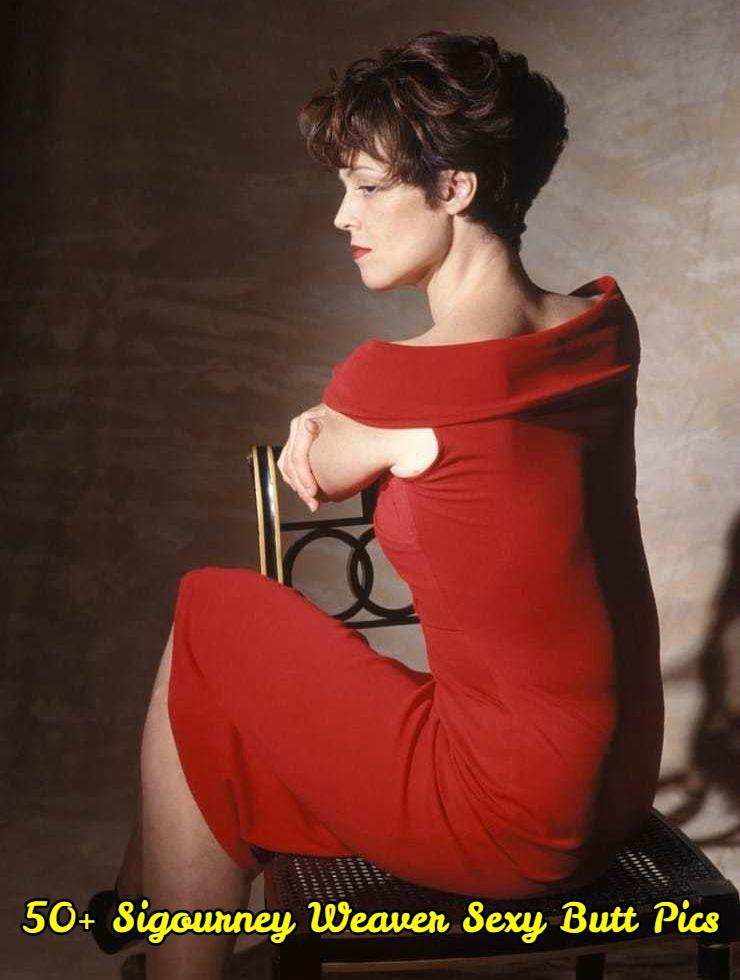 Sigourney Weaver Sexy Butt Pics
