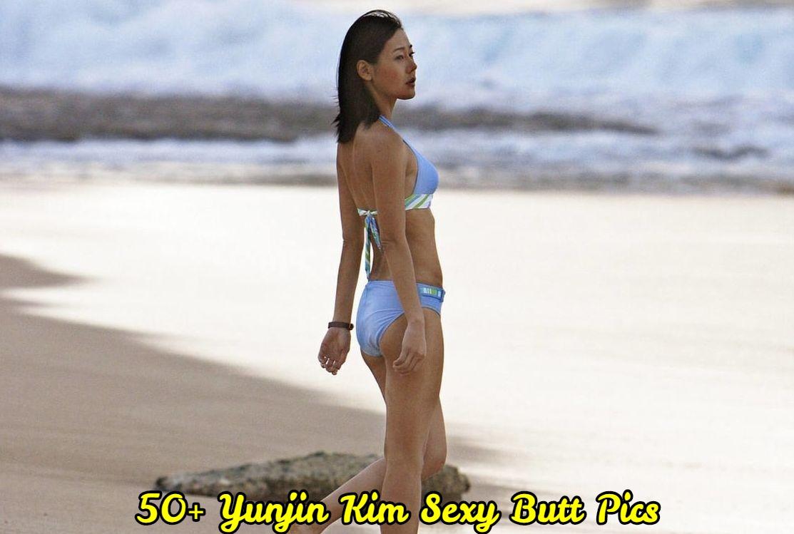 Yunjin Kim Sexy Butt Pics