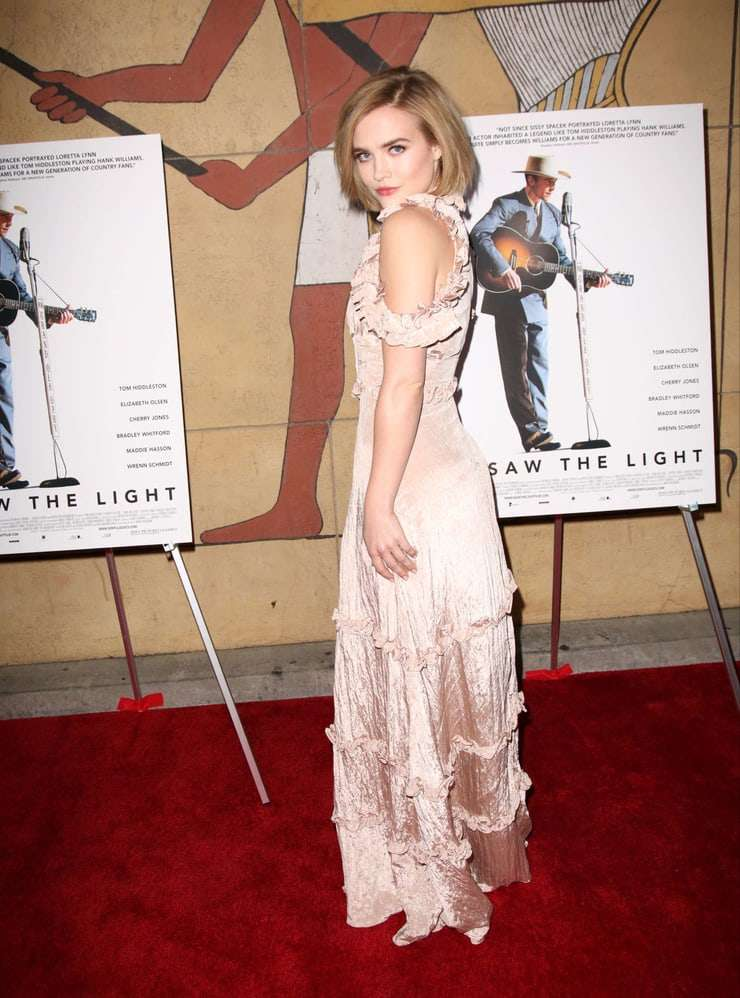 maddie hasson red carpet