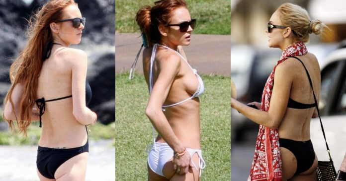 51 Lindsay Lohan Big Butt Pictues Will Remind You Of Kamasutra