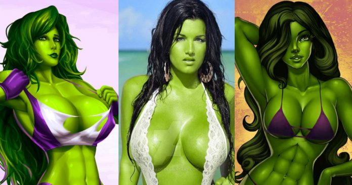 51 She-Hulk Hot Pictures Show Off Her Flawless Figure