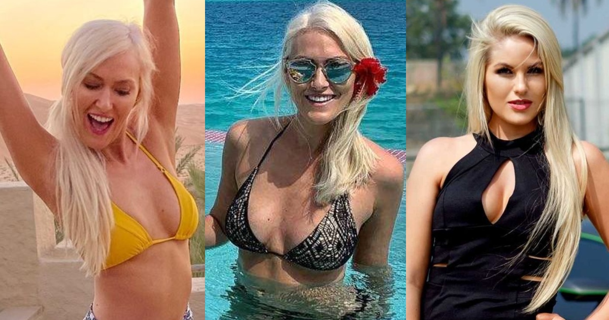 51 Supercar Blondie Hot Pictures Show Off Her Flawless Figure