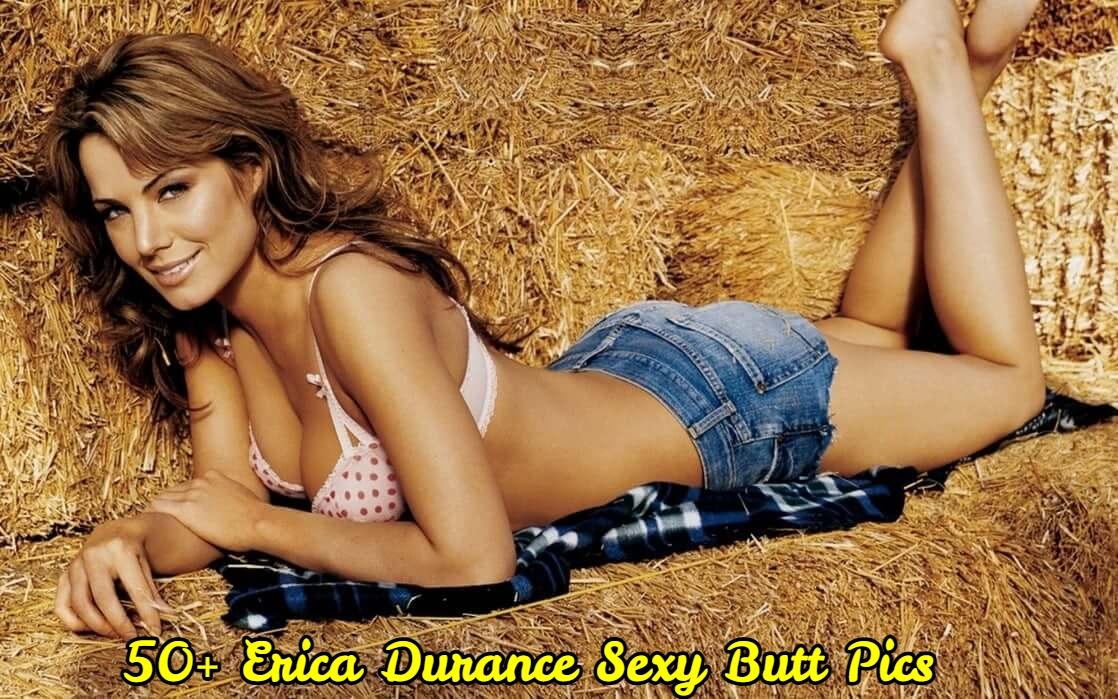 Erica Durance Sexy Butt Pics