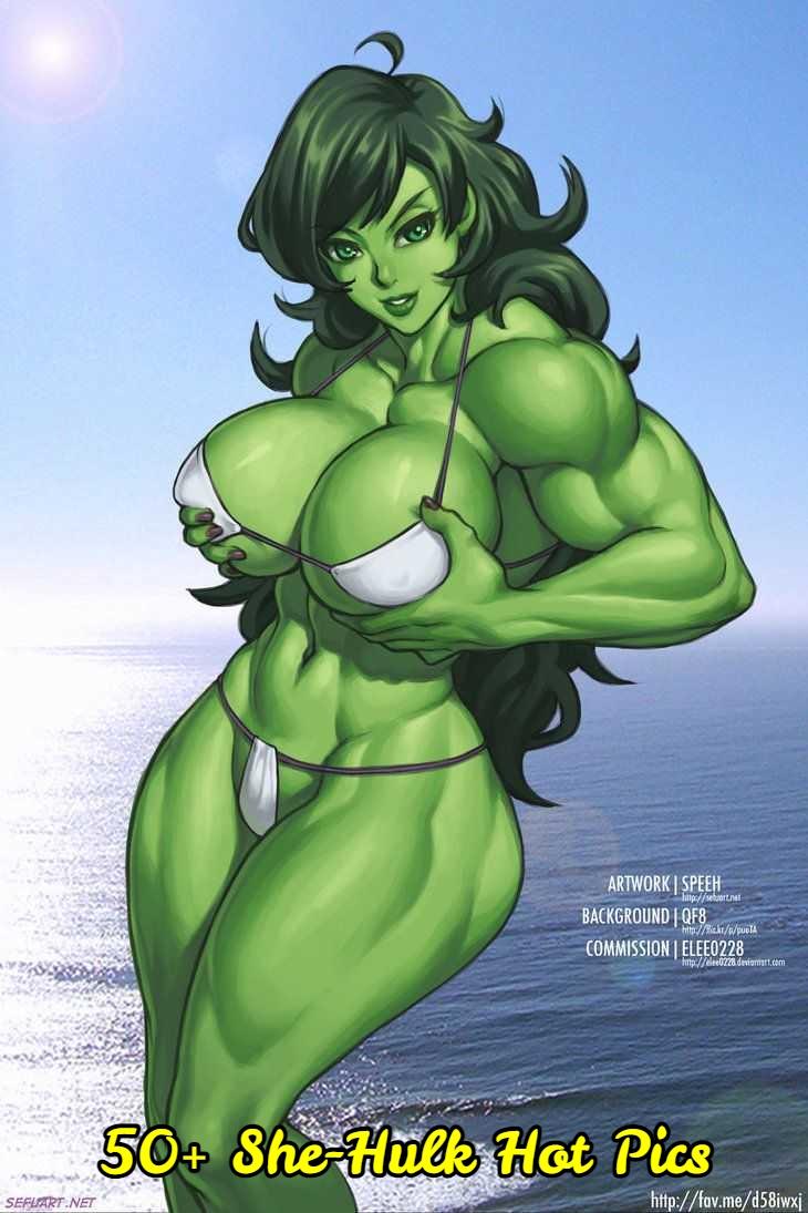 She-Hulk Hot Pics