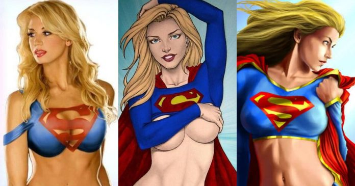 51 Supergirl Hot Pictures Show Off Her Flawless Figure