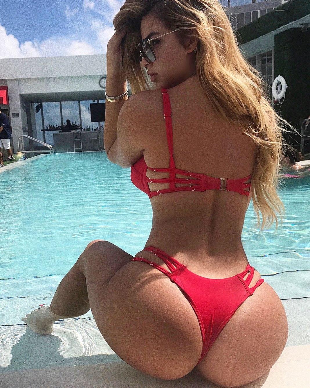 Anastasiya Kvitko booty pics