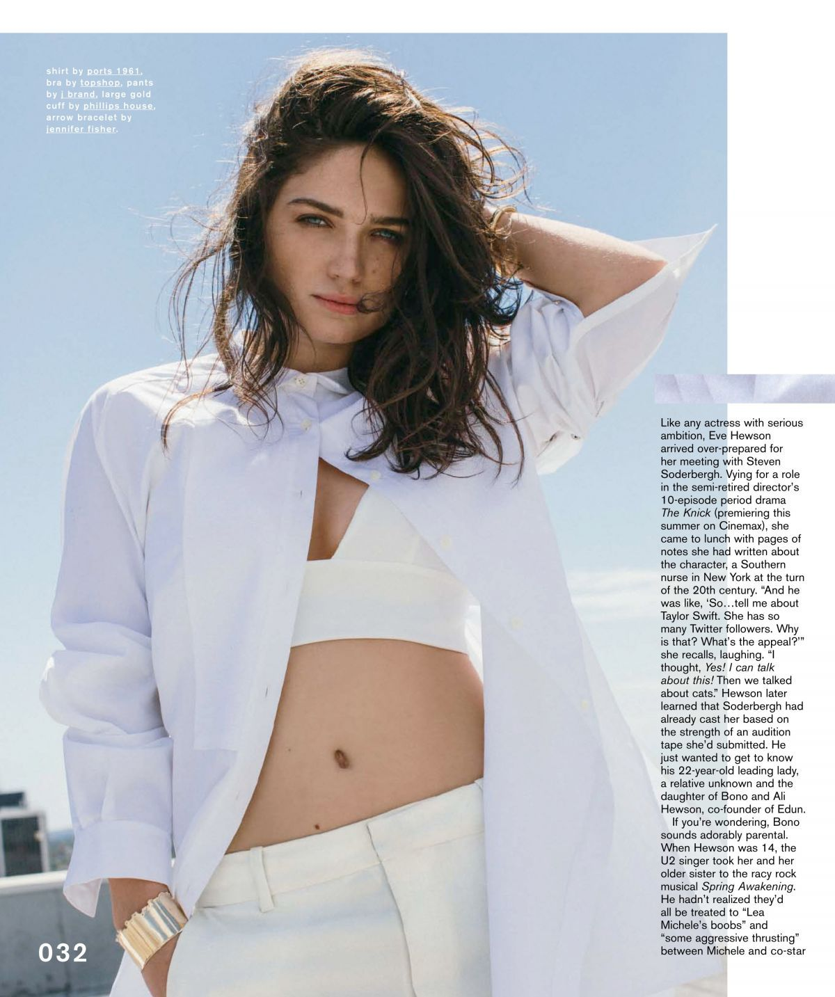 Eve Hewson cleavages pics