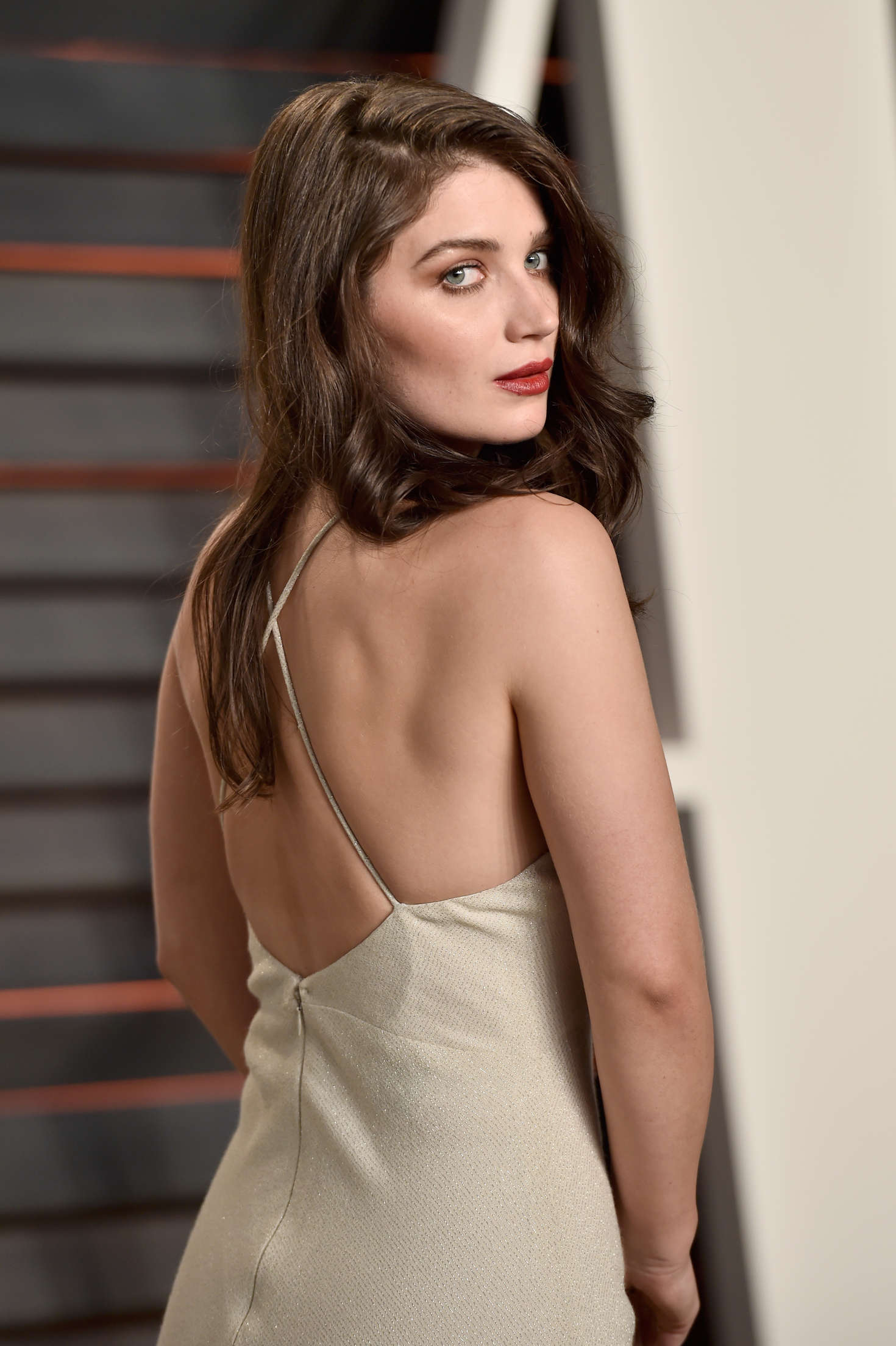 Eve Hewson sexy back pics