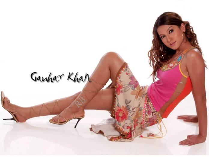 Gauahar Khan sexy