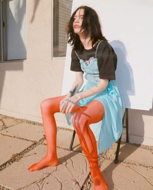 Grimes feet pics