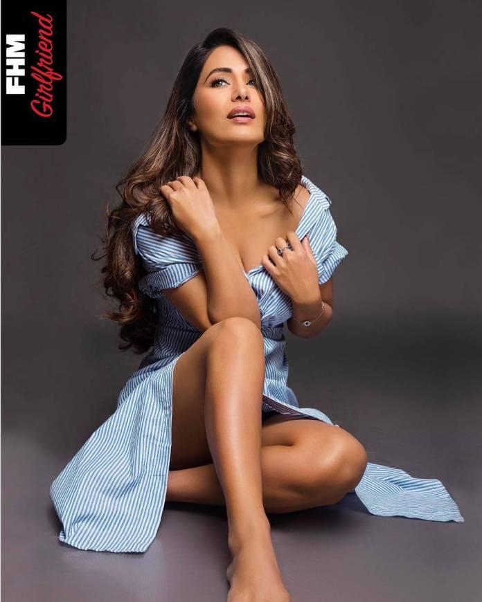 Hina Khan feet pics