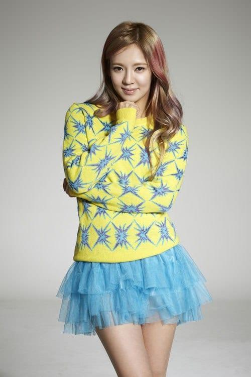 Im Yoon-ah sexy looks
